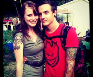boyfriend, couple, and Tattoos image