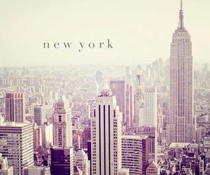 new york, city, and Dream image
