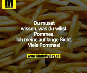 lustig, pommes, and made my day image