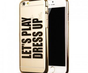 designer, gold, and phone case image