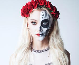Halloween and girl image