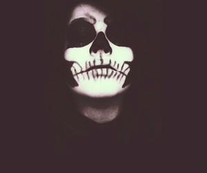 creepy, scary, and Halloween image