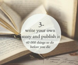 book, story, and write image