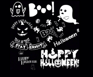 ghost, october 31, and Halloween image