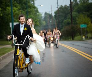 bike, photo, and teen love image