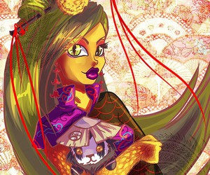 chinese, monster high, and jinefair image