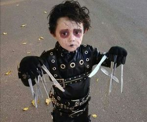 Halloween, edward scissorhands, and kids image