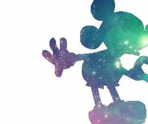 background, couple, and mickey image