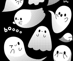 ghost, happy, and cute image