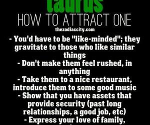 Relationship, taurus, and love image