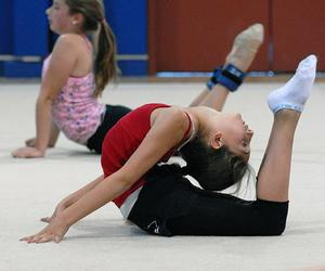 dance, flexible, and gymnastics image