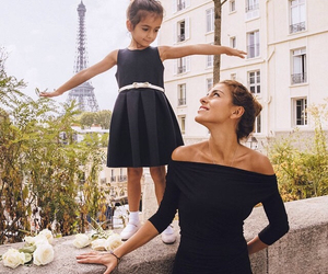 daughter, dress, and fashion image