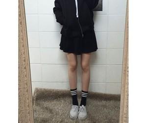 asian, kfashion, and korean fashion image