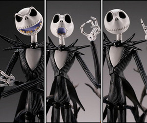 angry, jack skellington, and faces image