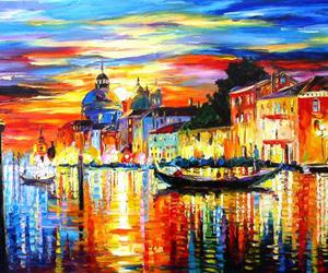art, venice, and colorful image