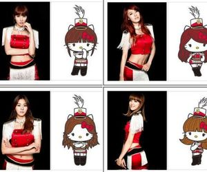 after school, cute, and hello kitty image