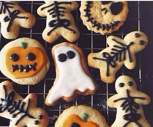 Cookies, food, and Halloween image