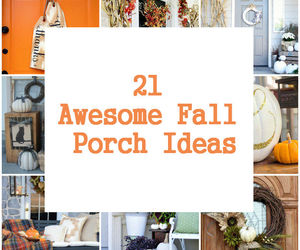 decorations, diy, and porch image