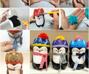 crafts, diy, and penguin image