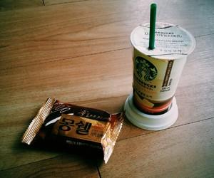 chocolate, white chocolate, and coffee image