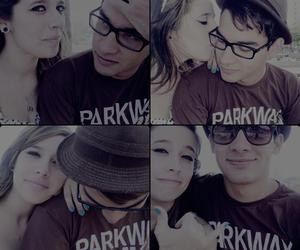 cat eye, couple, and parkway drive image