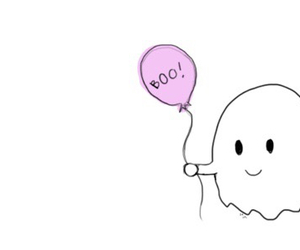 boy, ghost, and girl image