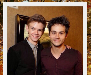 dylan, thomas, and the maze runner image