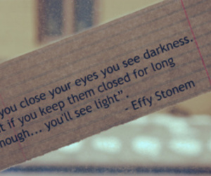 quote, effy stonem, and Darkness image