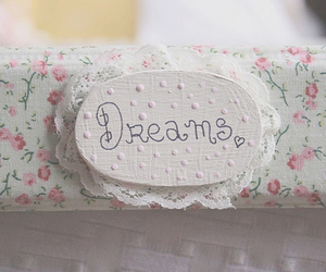 Dream, vintage, and flowers image