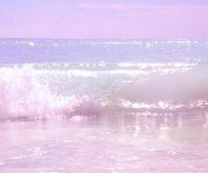 ocean, pastel, and sea image