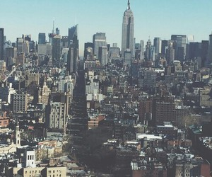 beautiful, city, and new york image