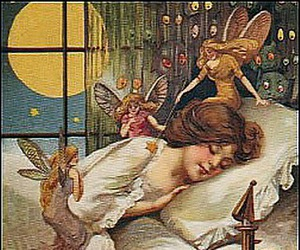 Halloween, vintage, and fairy image