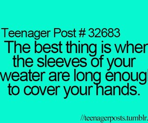 sweater, teenager post, and hands image
