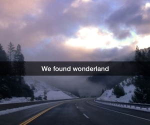 cloudy, fade, and wonderland image