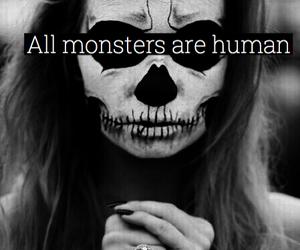 monster, human, and Halloween image