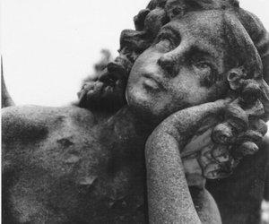 angel, depressive, and sad image