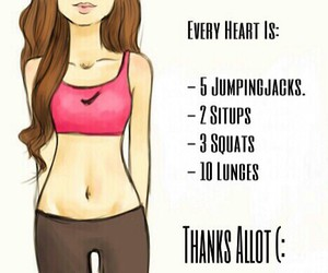 fitness, lose, and abnehmen image