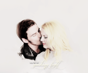once upon a time, emma swan, and captain swan image