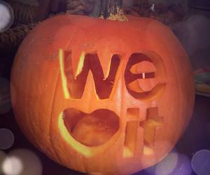 Halloween, pumpkin, and we heart it image