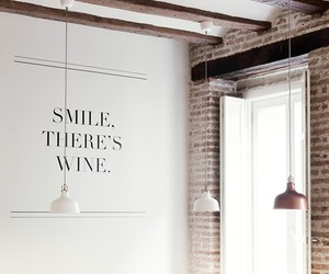 wine, interior, and smile image