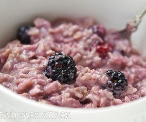 berries, breakfast, and porridge image