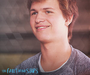 the fault in our stars, augustus waters, and ansel elgort image