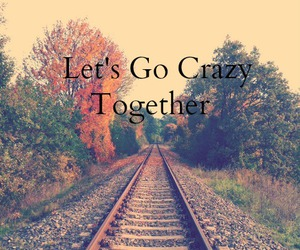 together, crazy, and english image