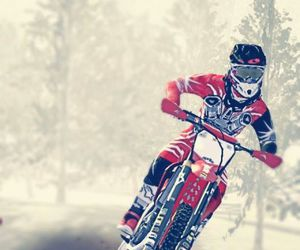 motocross and red image