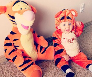 baby and Halloween image