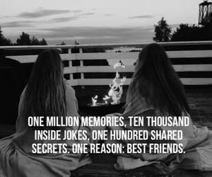 best friends, friendship, and secret image