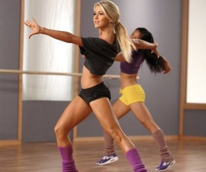dance, fitness, and workout image