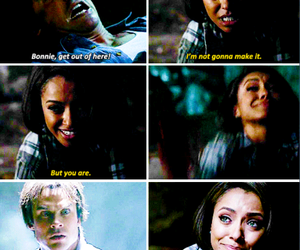 the vampire diaries, bamon, and Bonnie image