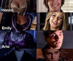 funny, pll, and spoby image