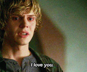 I Love You, evan peters, and american horror story image